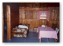 All cabins are heated with wood and come fully supplied with fresh linens, towels and soaps.